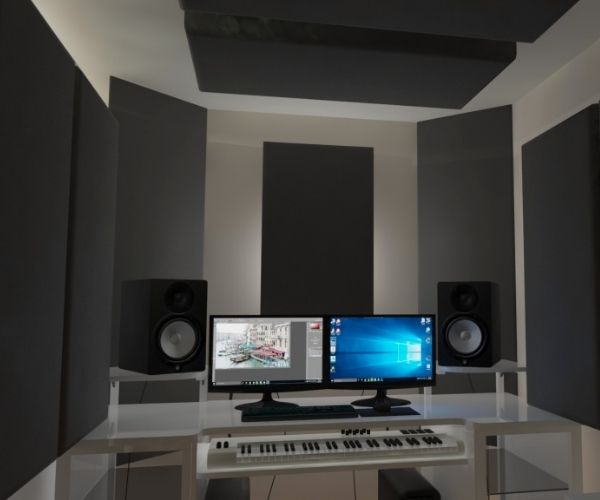 Installing-Bass-Traps